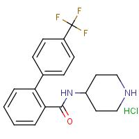 N-(Piperidin-4-yl)-4'-(trifluoromethyl)biphenyl-2-carboxamide hydrochloride