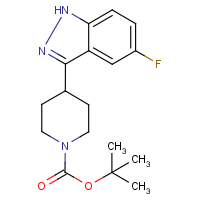 tert-Butyl 4-(5-fluoro-1H-indazol-3-yl)piperidine-1-carboxylate