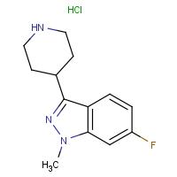 6-Fluoro-1-methyl-3-(4-piperidinyl)-1h-indazole hydrochloride