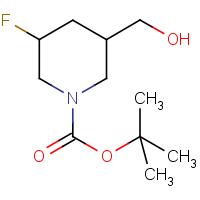 tert-Butyl 3-fluoro-5-(hydroxymethyl)piperidine-1-carboxylate
