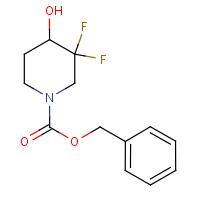 Benzyl 3,3-difluoro-4-hydroxypiperidine-1-carboxylate