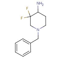 1-Benzyl-3,3-difluoropiperidin-4-amine