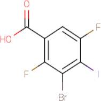 3-Bromo-2,5-difluoro-4-iodobenzoic acid