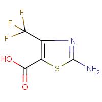2-Amino-4-(trifluoromethyl)-1,3-thiazole-5-carboxylic acid