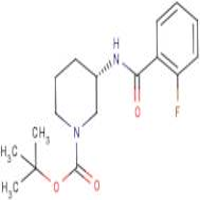(3S)-3-[(2-Fluorobenzoyl)amino]piperidine, N1-BOC protected