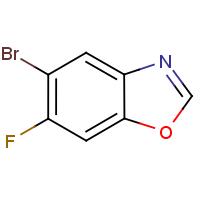 5-Bromo-6-fluoro-1,3-benzoxazole