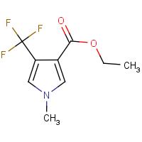 Ethyl 1-methyl-4-(trifluoromethyl)-1H-pyrrole-3-carboxylate