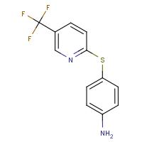 4-{[5-(Trifluoromethyl)pyridin-2-yl]thio}aniline