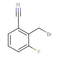 2-(Bromomethyl)-3-fluorobenzonitrile