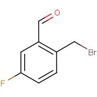2-(Bromomethyl)-5-fluorobenzaldehyde