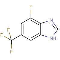 4-Fluoro-6-(trifluoromethyl)-1H-benzimidazole