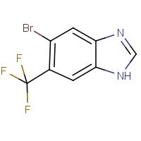 5-Bromo-6-(trifluoromethyl)-1H-benzimidazole