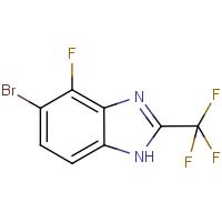 5-Bromo-4-fluoro -2-(trifluoromethyl)-1H-benzimidazole