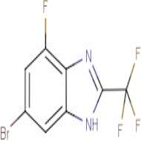 6-Bromo-4-fluoro -2-(trifluoromethyl)-1H-benzimidazole
