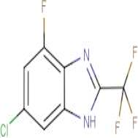 6-Chloro-4-fluoro -2-(trifluoromethyl)-1H-benzimidazole