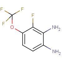 3-Fluoro-4-(trifluoromethoxy)benzene-1,2-diamine