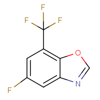 5-Fluoro-7-(trifluoromethyl)-1,3-benzoxazole