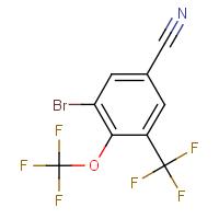 3-Bromo-4-(trifluoromethoxy)-5-(trifluoromethyl)benzonitrile