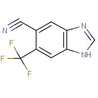 5-Cyano-6-(trifluoromethyl)-1H-benzimidazole