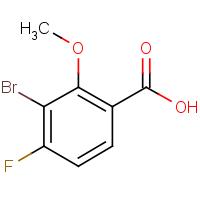 3-Bromo-4-fluoro-2-methoxybenzoic acid