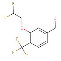 3-(2,2-Difluoroethoxy)-4-(trifluoromethyl)benzaldehyde