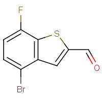 4-Bromo-7-fluorobenzo[b]thiophene-2-carboxaldehyde