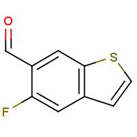 5-Fluorobenzo[b]thiophene-6-carboxaldehyde
