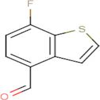 7-Fluorobenzo[b]thiophene-4-carboxaldehyde