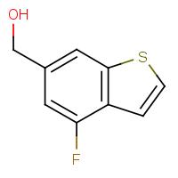 4-Fluoro-6-(hydroxymethyl)benzo[b]thiophene