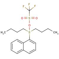 Di-n-butyl(naphthyl)sulphonium triflate