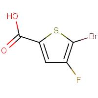 5-Bromo-4-fluorothiophene-2-carboxylic acid
