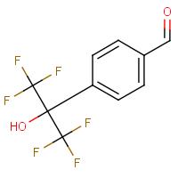4-[2,2,2-Trifluoro-1-hydroxy-1-(trifluoromethyl)ethyl]benzaldehyde