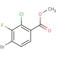 Methyl 4-bromo-2-chloro-3-fluorobenzoate