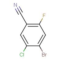 4-Bromo-5-chloro-2-fluorobenzonitrile