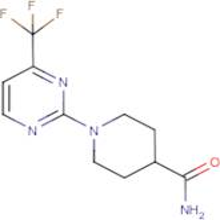 1-[4-(Trifluoromethyl)pyrimidin-2-yl]piperidine-4-carboxamide