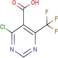 4-Chloro-6-(trifluoromethyl)pyrimidine-5-carboxylic acid