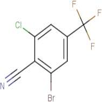 2-Bromo-6-chloro-4-(trifluoromethyl)benzonitrile