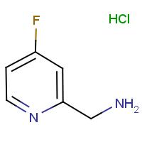 2-(Aminomethyl)-4-fluoropyridine hydrochloride