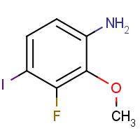 3-Fluoro-4-iodo-2-methoxyaniline