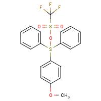 Diphenyl(4-methoxyphenyl)sulphonium triflate