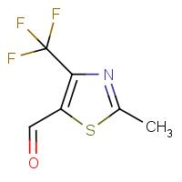 2-Methyl-4-(trifluoromethyl)-1,3-thiazole-5-carboxaldehyde