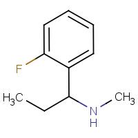 1-(2-Fluorophenyl)-N-methylpropylamine