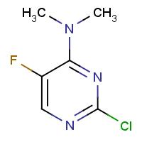 2-Chloro-4-(dimethylamino)-5-fluoropyrimidine