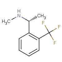 (1R)-N-Methyl-1-[2-(trifluoromethyl)phenyl]ethylamine