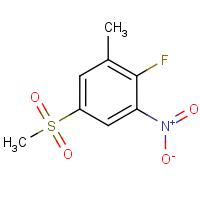2-Fluoro-5-(methylsulphonyl)-3-nitrotoluene