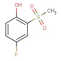 4-Fluoro-2-(methylsulphonyl)phenol
