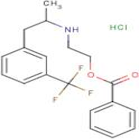 2-({1-[3-(Trifluoromethyl)phenyl]prop-2-yl}amino)ethyl benzoate hydrochloride