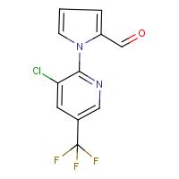 1-[3-Chloro-5-(trifluoromethyl)pyridin-2-yl]-1H-pyrrole-2-carboxaldehyde