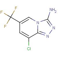 3-Amino-8-chloro-6-(trifluoromethyl)[1,2,4]triazolo[4,3-a]pyridine