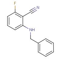 2-(Benzylamino)-6-fluorobenzonitrile